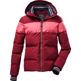 killtec KOW 23 Quilted Jacket Girls, rouge